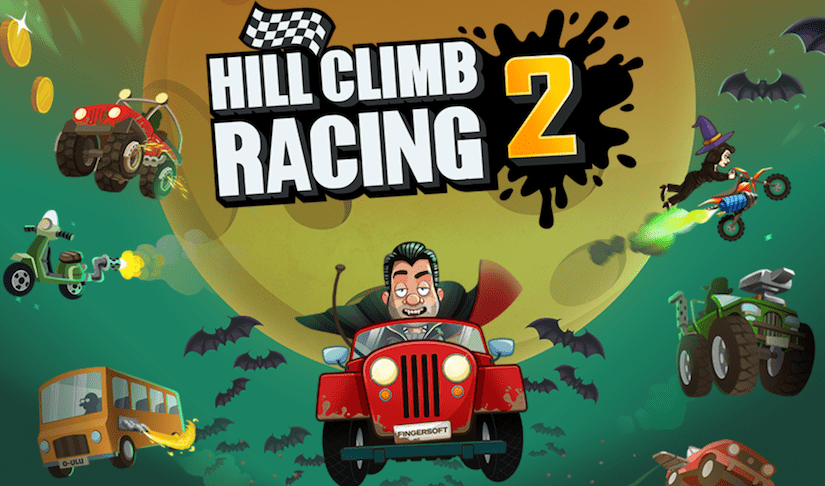 el juego hill climb 2 se actualiza para halloween a la versin 190