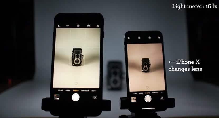 La cámara del iPhone X necesita poca luz para realizar buenas fotos