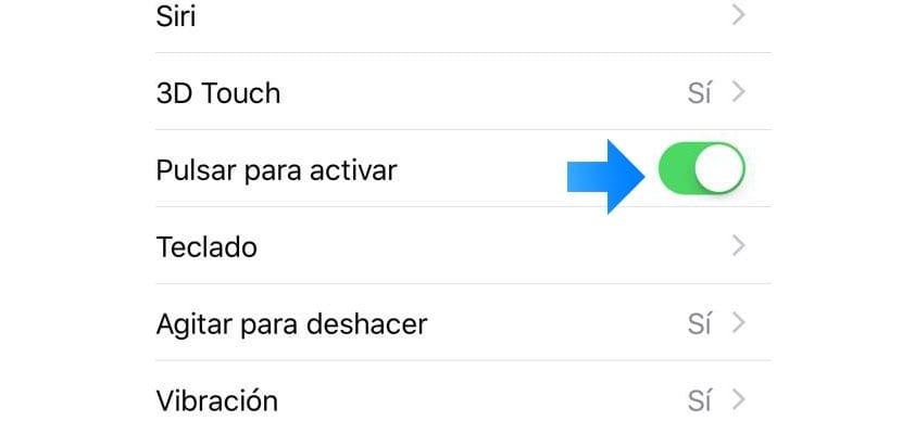 función pulsar para activar iPhone X