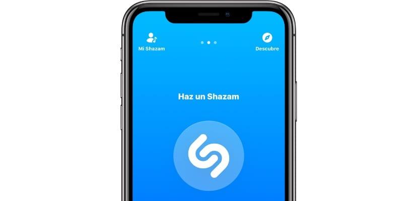 Shazam iPhone X