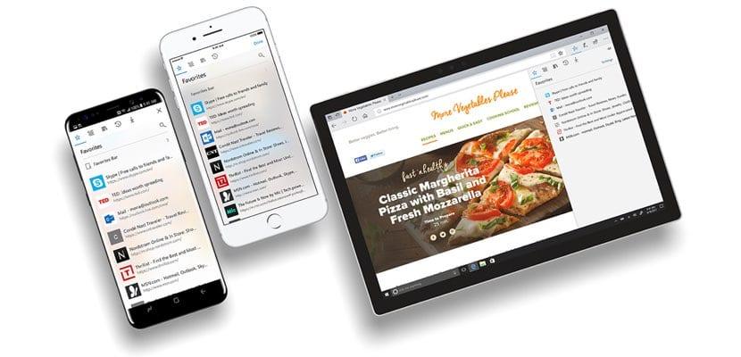 actualización Microsoft Edge para iOS