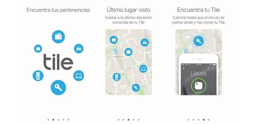 App de Tile para iPhone