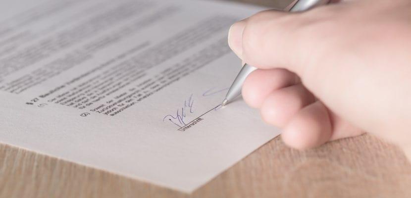 cómo firmar pdf con iPhone o iPad desde Mail