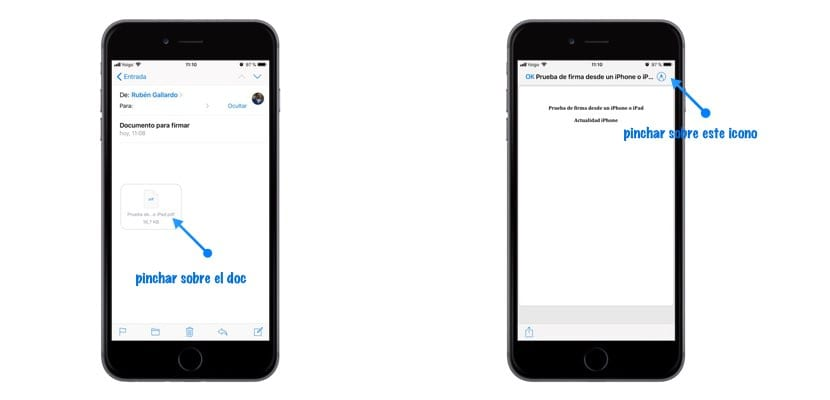 firmar documento desde iPhone o iPad en Mail imagen1