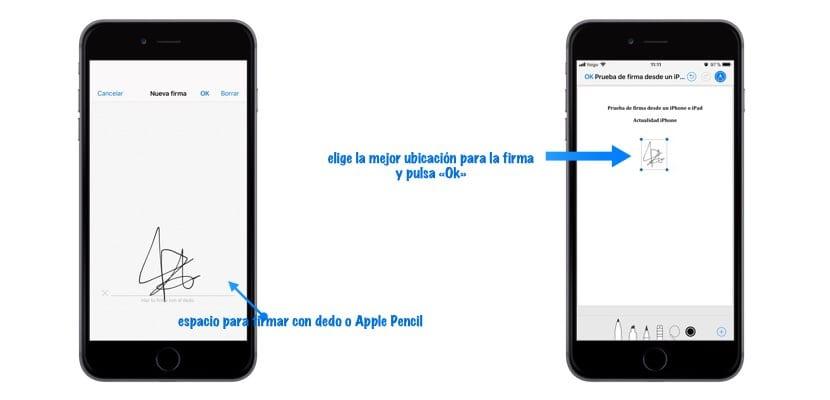 firmar un PDF desde iPhone o iPad en Mail imagen3