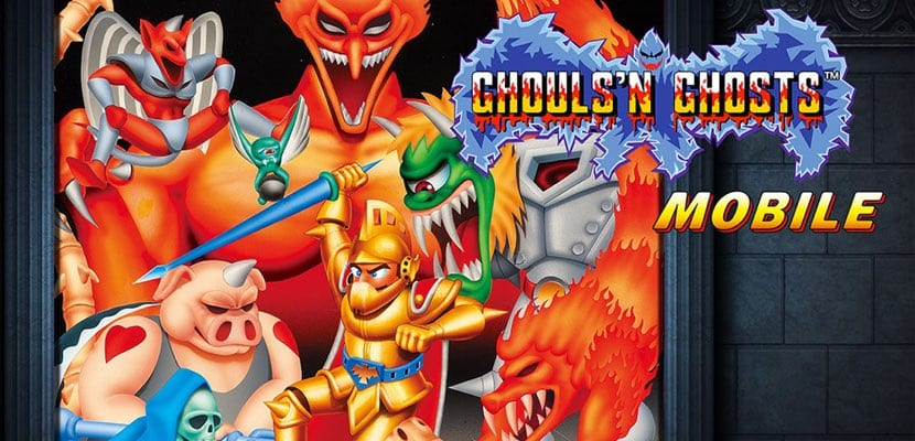 Ghosts'n Goblins Mobile para iOS retro juegos