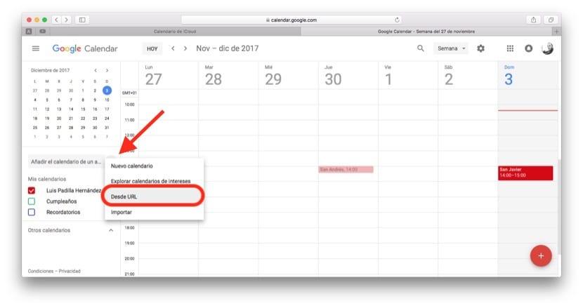 Calendario Icloud.Como Sincronizar Los Calendarios De Icloud Y Google Facilmente