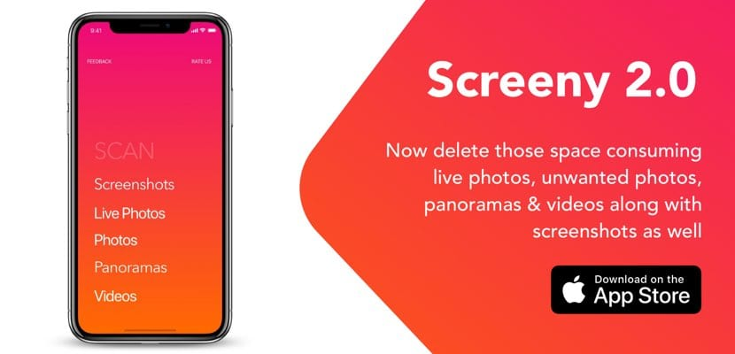 Screeny 2.0 para iPhone iPad