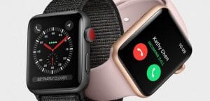 Apple Watch Series 3 reinicios hospitales