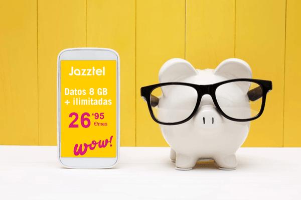 Las mejores tarifas de móvil de Jazztel