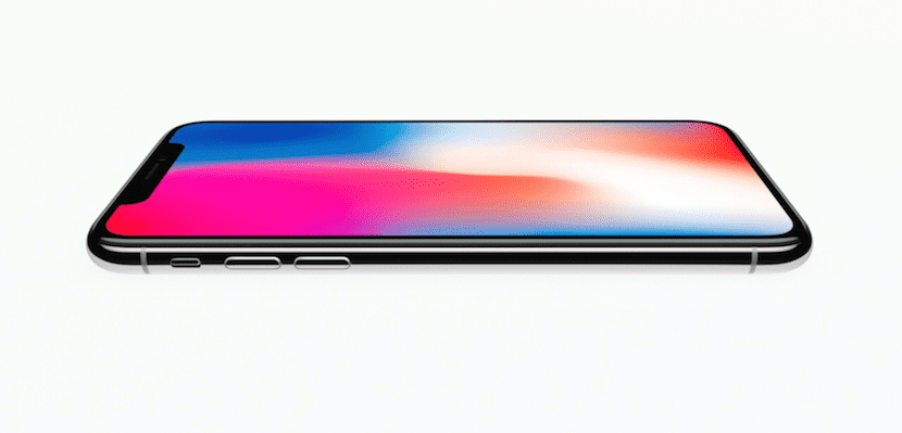 iPhone X pantalla OLED