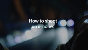 How to shoot on iPhone