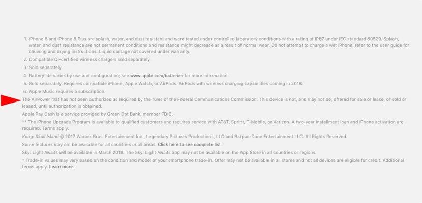 FCC aprobación AirPower pendiente