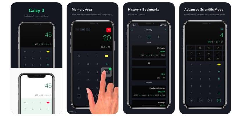 Calzy 3 para iOS