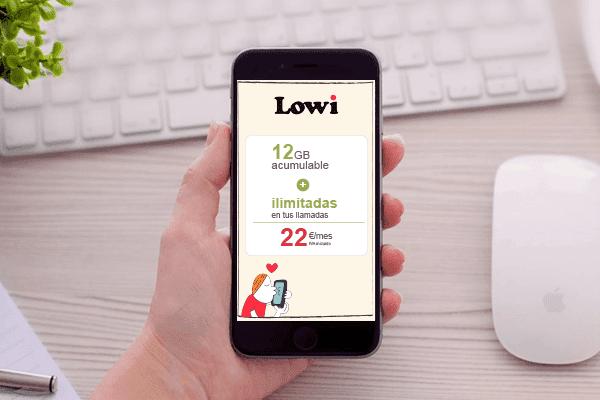 Las mejores tarifas de móvil de Lowi