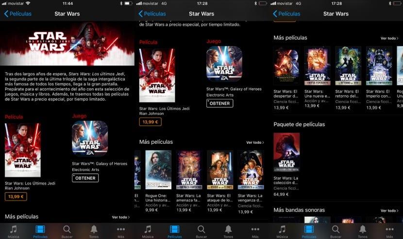 Precios Star Wars