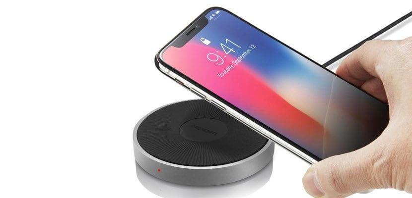 Spigen cargador Qi iPhone
