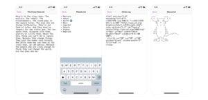 Textor iPhone iPad editor TXT