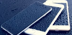 iPhone agua