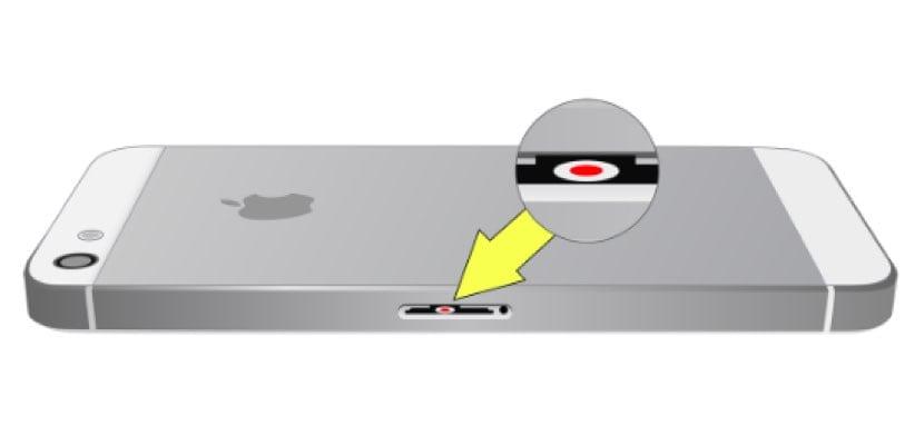 ubicación LCI iPhone 5