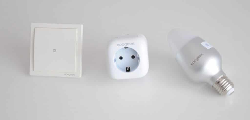 La iluminación de casa compatible con HomeKit gracias a Koogeek
