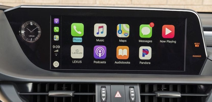 CarPlay Lexus ES