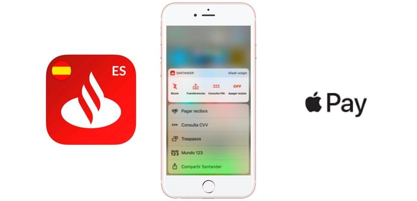 Iphone  Banco Santander