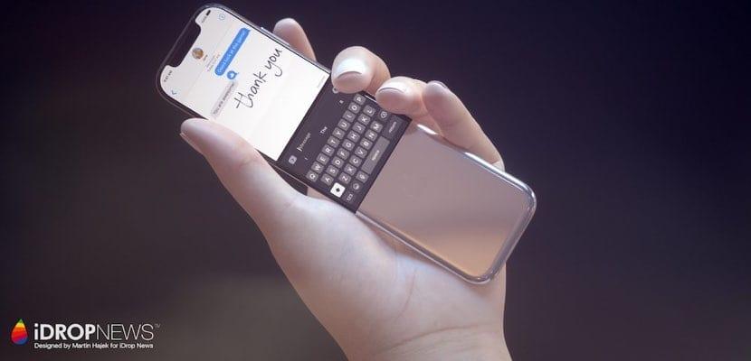 iPhone curvado concepto