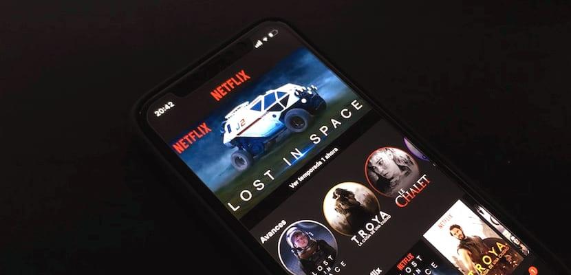 Netflix ahora muestra fragmentos en vertical de su contenido durante treinta segundos