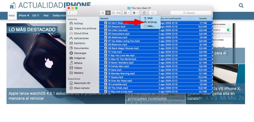 AirDrop Doppler Music App
