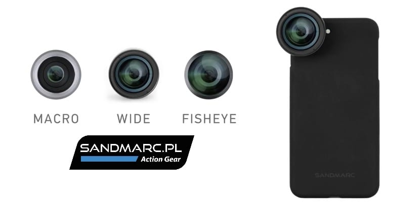 Sandmarc Lenses para iPhone