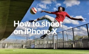 How to Shoot on iPhone Futbol