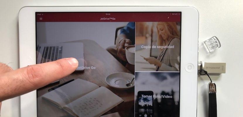JetDrive Go App para iPad