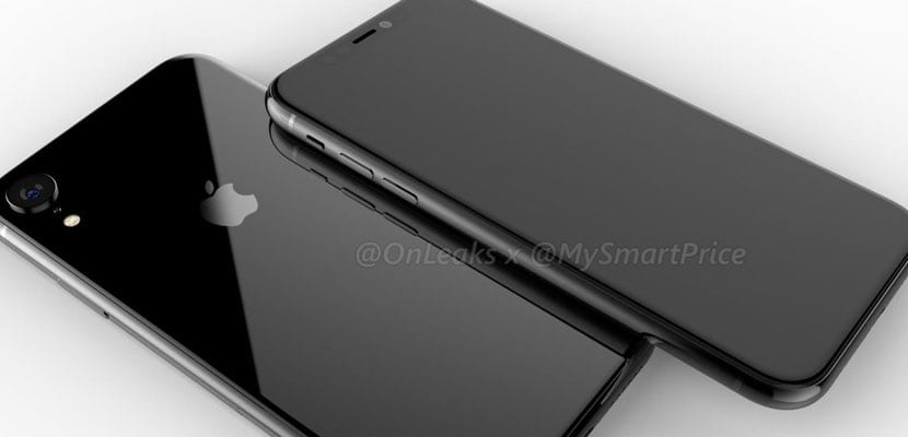 iPhone LCD 2018 render
