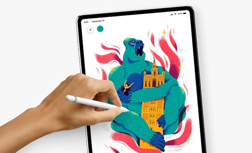 La beta 5 de iOS 12 muestra la interfaz de un iPad Pro sin