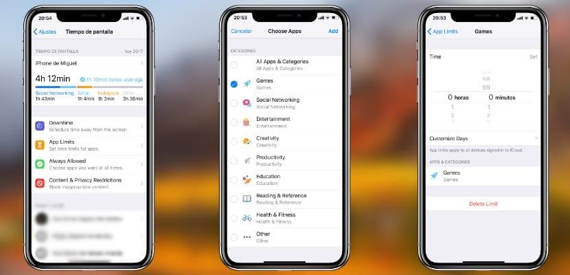 Cómo puedo bloquear las aplicaciones con Tiempo de Pantalla en iOS