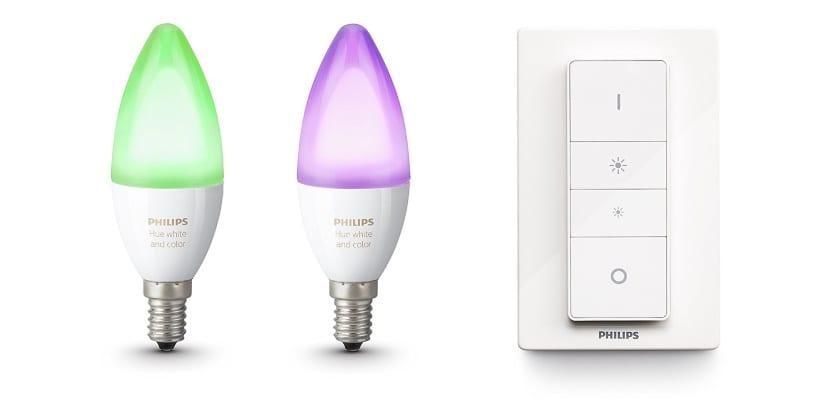 Las bombillas Philips Hue ya con compatibles con Atajos de Siri