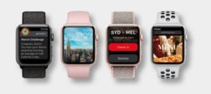 Varios modelos Apple Watch Series 0