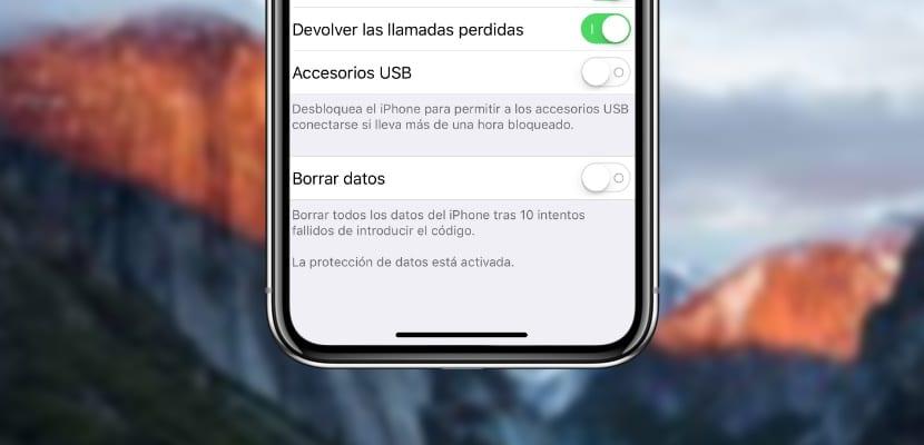 Como acceder al control estricto del USB integrado en iOS 12