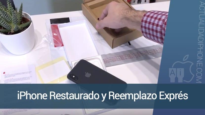 El Reemplazo Exprés y las diferencias entre un iPhone Refurbished y normal