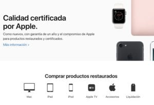 Apple certificado restaurado