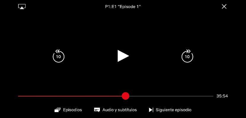 Netflix para iOS se actualiza con un nuevo reproductor para sus series y películas