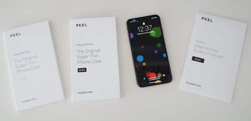 Peel funda y protector de pantalla