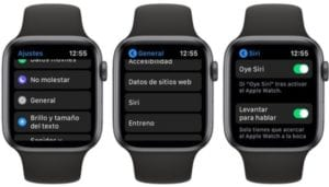 Apple Watch levantar para hablar