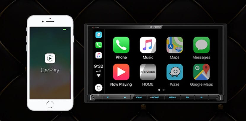 Kenwood compatible con CarPlay