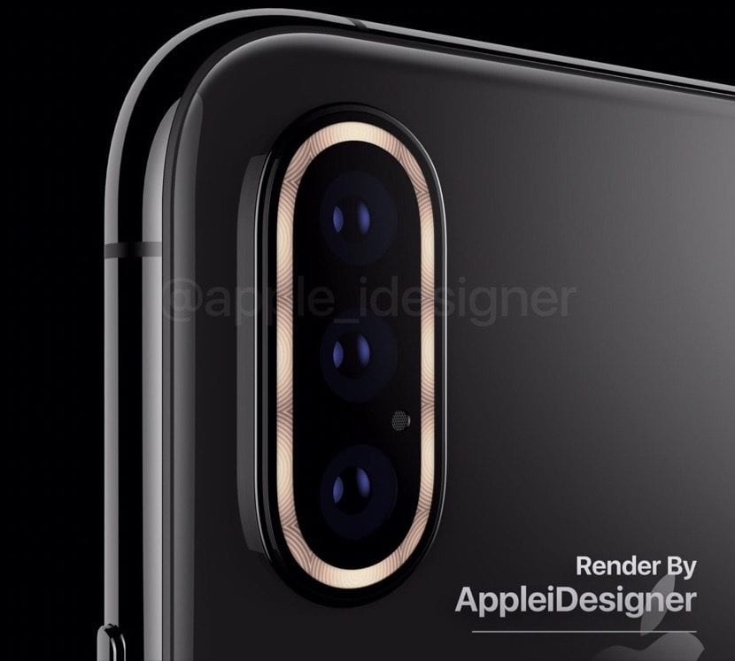 Render camara iPhone 2019