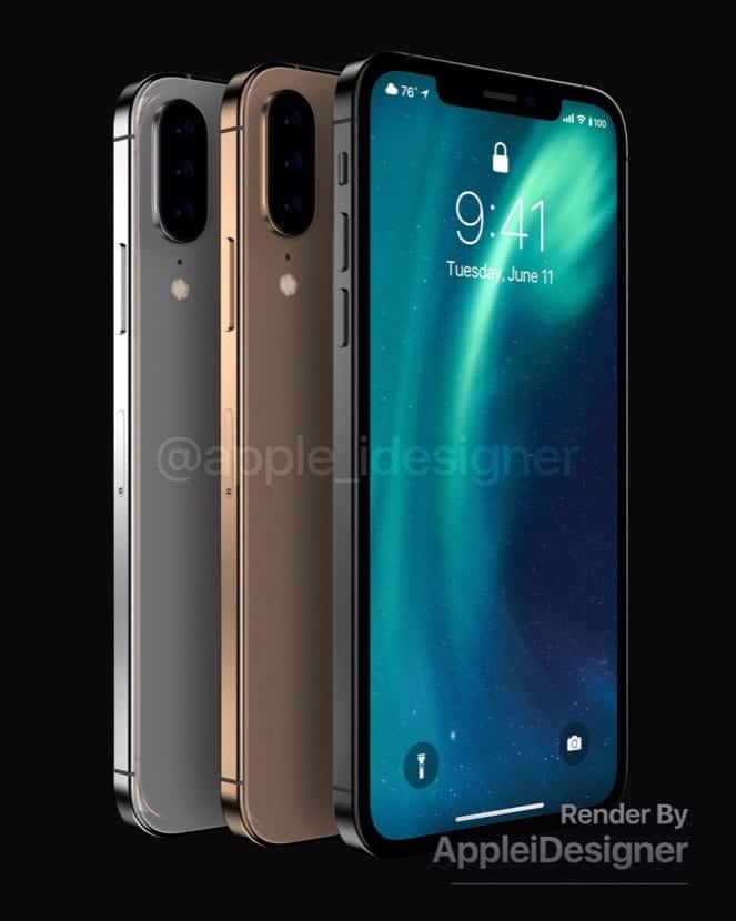 Diseño render iPhone