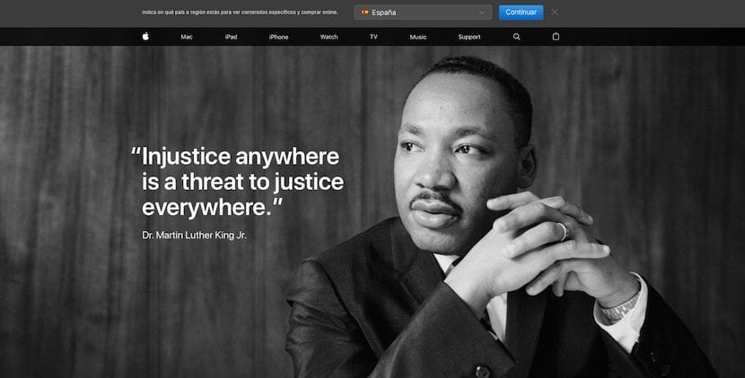 Apple rinde homenaje a Martin Luther King