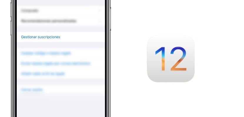 Cómo gestionar todas las suscripciones de la App Store en iOS 12.2