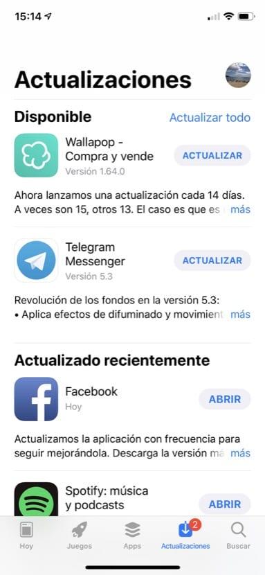 App store fallo